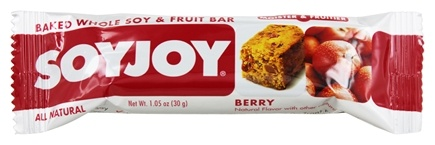 DROPPED: SoyJoy - all Natural Baked Whole Soy & Fruit Bar Berry - 1.05 oz.
