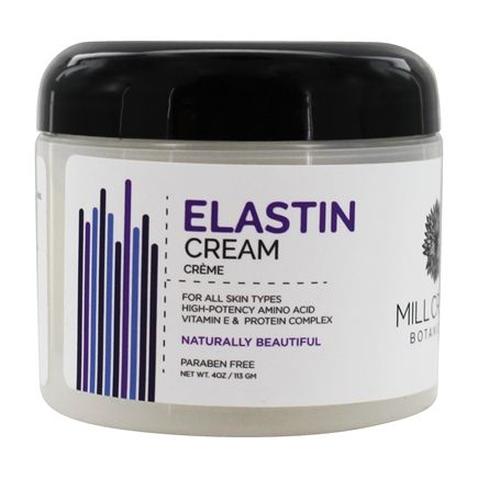 Mill Creek Botanicals - Elastin Cream For All Skin Types - 4 oz.