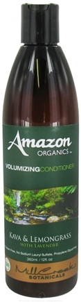 Zoom View - Amazon Organics Volumizing Conditioner Kava & Lemongrass With Lavender