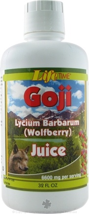 DROPPED: LifeTime Vitamins - Goji Juice - 32 oz. CLEARANCE PRICED