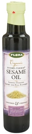Zoom View - Organic Hydro-Therm Sesame Oil