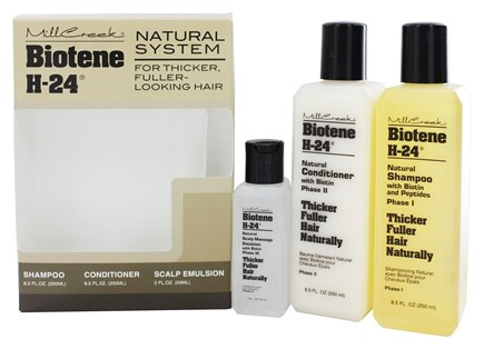 Zoom View - Biotene H-24 Natural System for Thicker Fuller Looking Hair