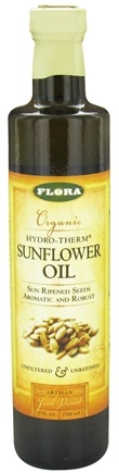 DROPPED: Flora - Organic Hydro-Therm Sunflower Oil - 17 oz. CLEARANCE PRICED