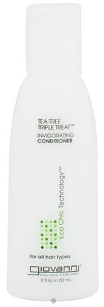 DROPPED: Giovanni - Conditioner Invigorating Tea Tree Triple Treat Travel Size - 2 oz. CLEARANCE PRICED