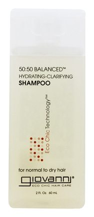 Giovanni - Shampoo 50:50 Balanced Hydrating-Clarifying Travel Size - 2 oz.
