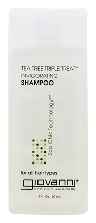 Zoom View - Shampoo Invigorating Tea Tree Triple Treat Travel Size
