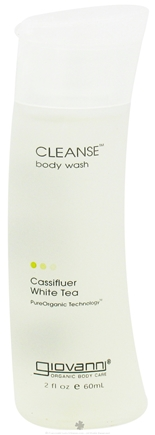 DROPPED: Giovanni - Cleanse Body Wash Travel Size Cassifluer White Tea - 2 oz. CLEARANCE PRICED