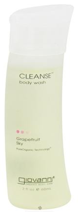 DROPPED: Giovanni - Cleanse Body Wash Travel Size Grapefruit Sky - 2 oz. CLEARANCE PRICED