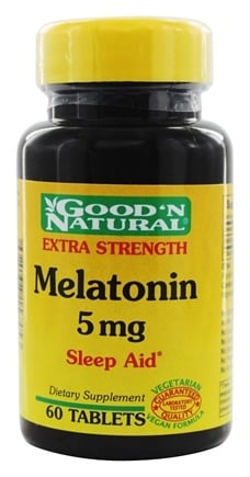 DROPPED: Good 'N Natural - Melatonin 5 mg. - 60 Tablets