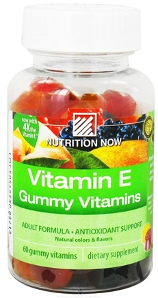 DROPPED: Nutrition Now - Vitamin E Gummy Vitamins for Adults - 70 Gummies