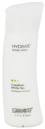 DROPPED: Giovanni - Hydrate Body Lotion Travel Size Cassifleur White Tea - 2 oz.
