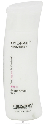 DROPPED: Giovanni - Hydrate Body Lotion Travel Size Grapefruit Sky - 2 oz. CLEARANCE PRICED