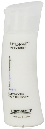 DROPPED: Giovanni - Hydrate Body Lotion Travel Size Lavender Vanilla Snow - 2 oz. CLEARANCE PRICED