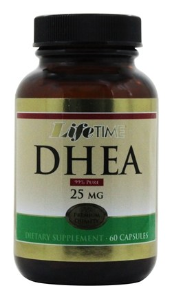 LifeTime Vitamins - DHEA 25 mg. - 60 Capsules CLEARANCE PRICED