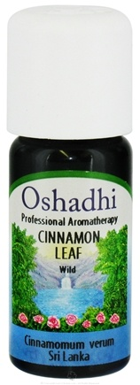 DROPPED: Oshadhi - Professional Aromatherapy Wild Cinnamon Leaf Essential Oil - 10 ml. CLEARANCE PRICED