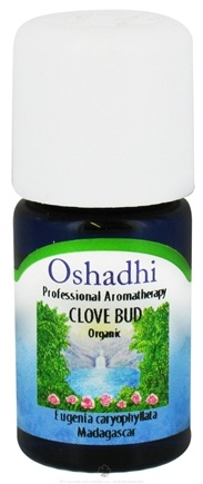 DROPPED: Oshadhi - Professional Aromatherapy Clove Bud Certified Organic Essential Oil - 10 ml. CLEARANCE PRICED