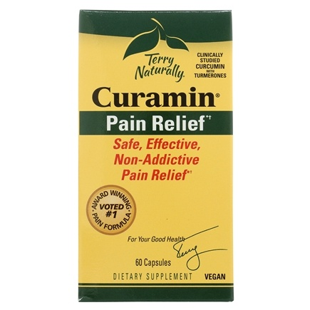 EuroPharma - Terry Naturally Curamin with BCM-95 - 60 Capsules