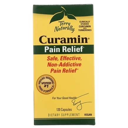 EuroPharma - Terry Naturally Curamin with BCM-95 - 120 Capsules