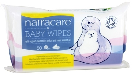 Natracare - Organic Baby Wipes - 50 Wipe(s)