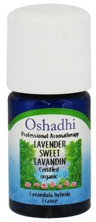 DROPPED: Oshadhi - Professional Aromatherapy Lavender Sweet Lavandin Organic Essential Oil - 5 ml. CLEARANCE PRICED