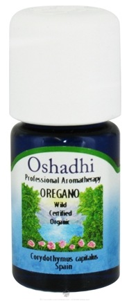 DROPPED: Oshadhi - Professional Aromatherapy Wild Spanish Oregano Certified Organic Essential Oil - 5 ml. CLEARANCE PRICED
