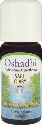 DROPPED: Oshadhi - Select Sage Clary Essential Oil - 10 ml.