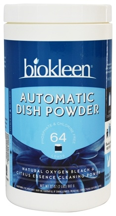 Biokleen - Automatic Dish Powder Grapefruit Seed & Orange Peel Extract - 32 oz.