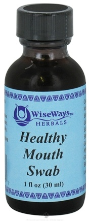 DROPPED: Wise Ways - Healthy Mouth Swab - 1 oz. CLEARANCE PRICED