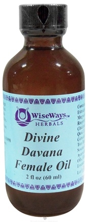 DROPPED: Wise Ways - Divine Davana Female Oil - 2 oz. formerly Ovary Oil