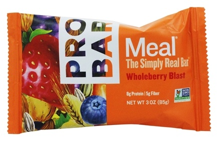 DROPPED: Pro Bar - Whole Food Meal Bar Original Collection Whole Berry Blast - 3 oz.