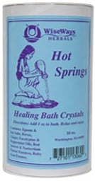 DROPPED: Wise Ways - Hot Springs Healing Bath Crystals - 16 oz.