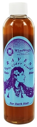 Zoom View - Raven Apple Cider Vinegar Hair Rinse For Dark Hair