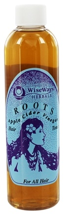 Wise Ways - Roots Hair Tonic Apple Cider Vinegar For All Hair Types - 8 oz.