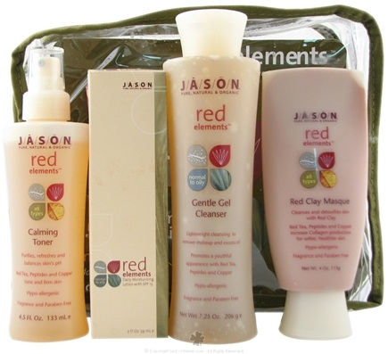 DROPPED: Jason Natural Products - Red Elements Antioxidant Skin Care Set for Normal to Oily Skin