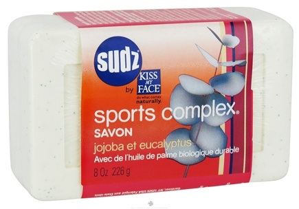 Zoom View - Sudz Organic Bar Soap Sports Complex With Sustainable Organic Palm Oil