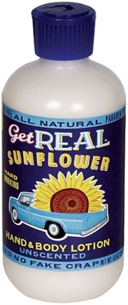 DROPPED: Blue Q - Get Real Sunflower Hand and Body Lotion Unscented - 8 oz.