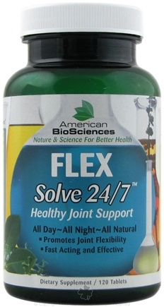 DROPPED: American BioSciences - Flex Solve 24 7 Healthy Joint Support - 120 Tablets