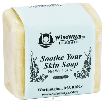 DROPPED: Wise Ways - Soothe Your Skin Soap - 4 oz. CLEARANCE PRICED