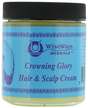 DROPPED: Wise Ways - Crowning Glory Hair and Scalp Cream - 4 oz.