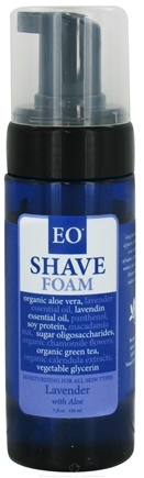 DROPPED: EO Products - Shave Foam Lavender with Aloe - 5 oz.