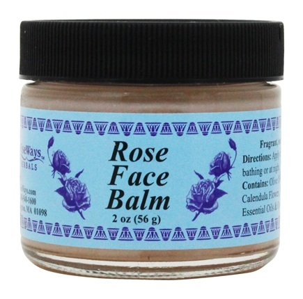 Wise Ways - Rose Face Balm - 2 oz.