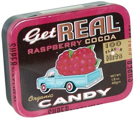 DROPPED: Blue Q - Get Real Organic Candy Raspberry Cocoa - 1.5 Tin(s)
