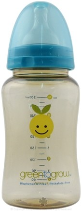 DROPPED: Green To Grow - Baby Bottle BPA Free Wide Neck - 1 Bottle(s)