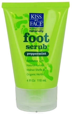 DROPPED: Kiss My Face - Foot Scrub Peppermint - 4 oz.