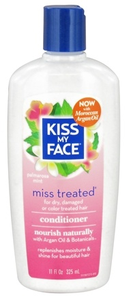 Kiss My Face - Conditioner Miss Treated Natural Replenishing Palmarosa Mint - 11 oz.