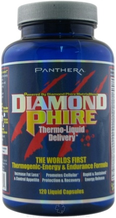 DROPPED: Panthera Labs - Diamond Phire Thermo Liquid Delivery Endurance Formula - 120 Capsules CLEARANCE PRICED