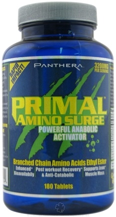 DROPPED: Panthera Labs - Primal Amino Surge Powerful Anabolic Activator - 180 Tablets