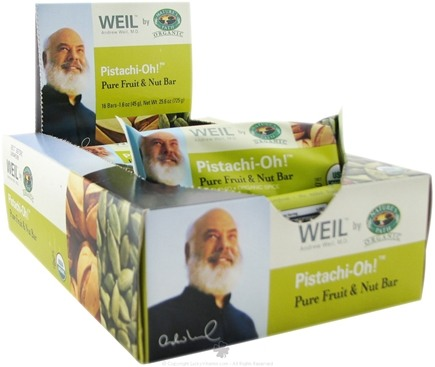 Zoom View - Weil Organic Pure Fruit and Nut Bar