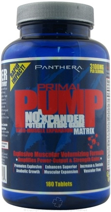 DROPPED: Panthera Labs - Primal Pump NO-Xpander Nitric Oxide - 180 Capsules