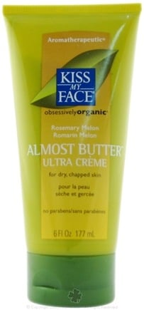 DROPPED: Kiss My Face - Almost Butter Ultra Creme Aromatherapeutic Rosemary Melon - 6 oz.